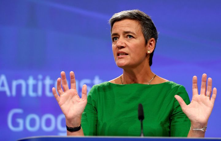 European Competition Commissioner Margrethe Vestager has hit also major European firms with penalties for anticompetitive beh