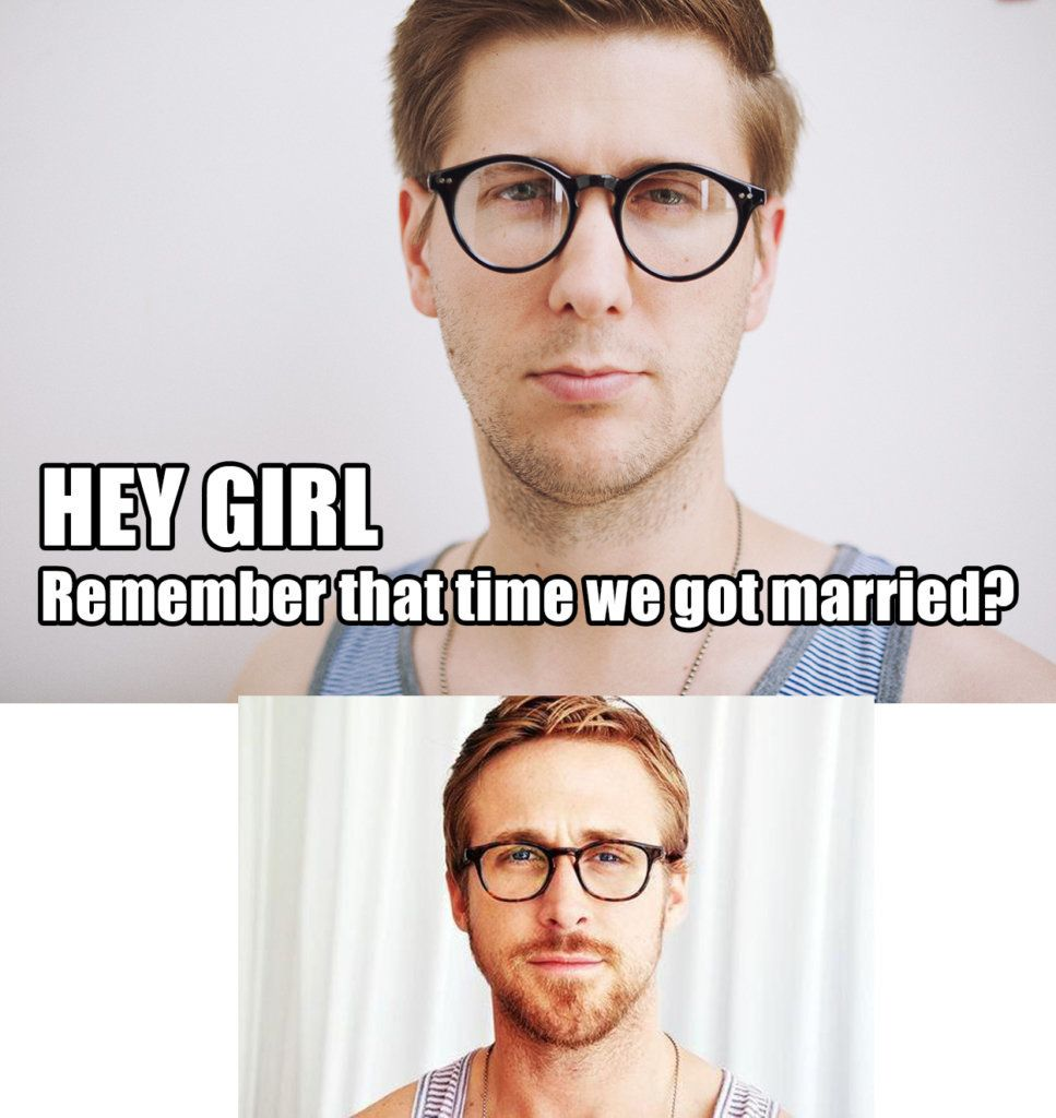 5952c86917000020001030ec?ops=scalefit_720_noupscale this ryan gosling look alike recreated some 'hey girl' memes for