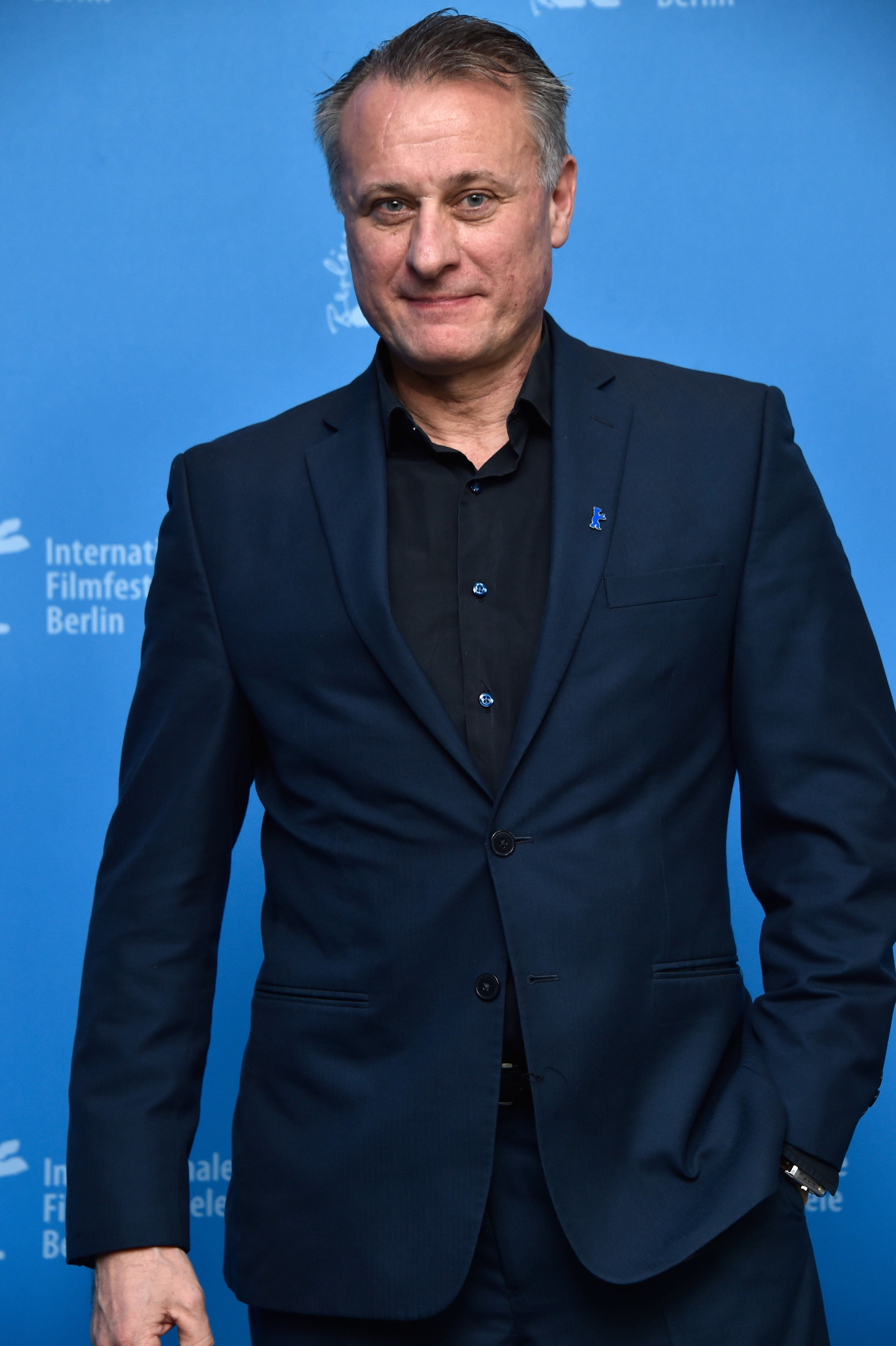 BERLIN, GERMANY - FEBRUARY 16:  Actor Michael Nyqvist  attends the 'A Serious Game' (Den allvarsamma leken) photo call during the 66th Berlinale International Film Festival Berlin at Grand Hyatt Hotel on February 16, 2016 in Berlin, Germany.  (Photo by Pascal Le Segretain/Getty Images)