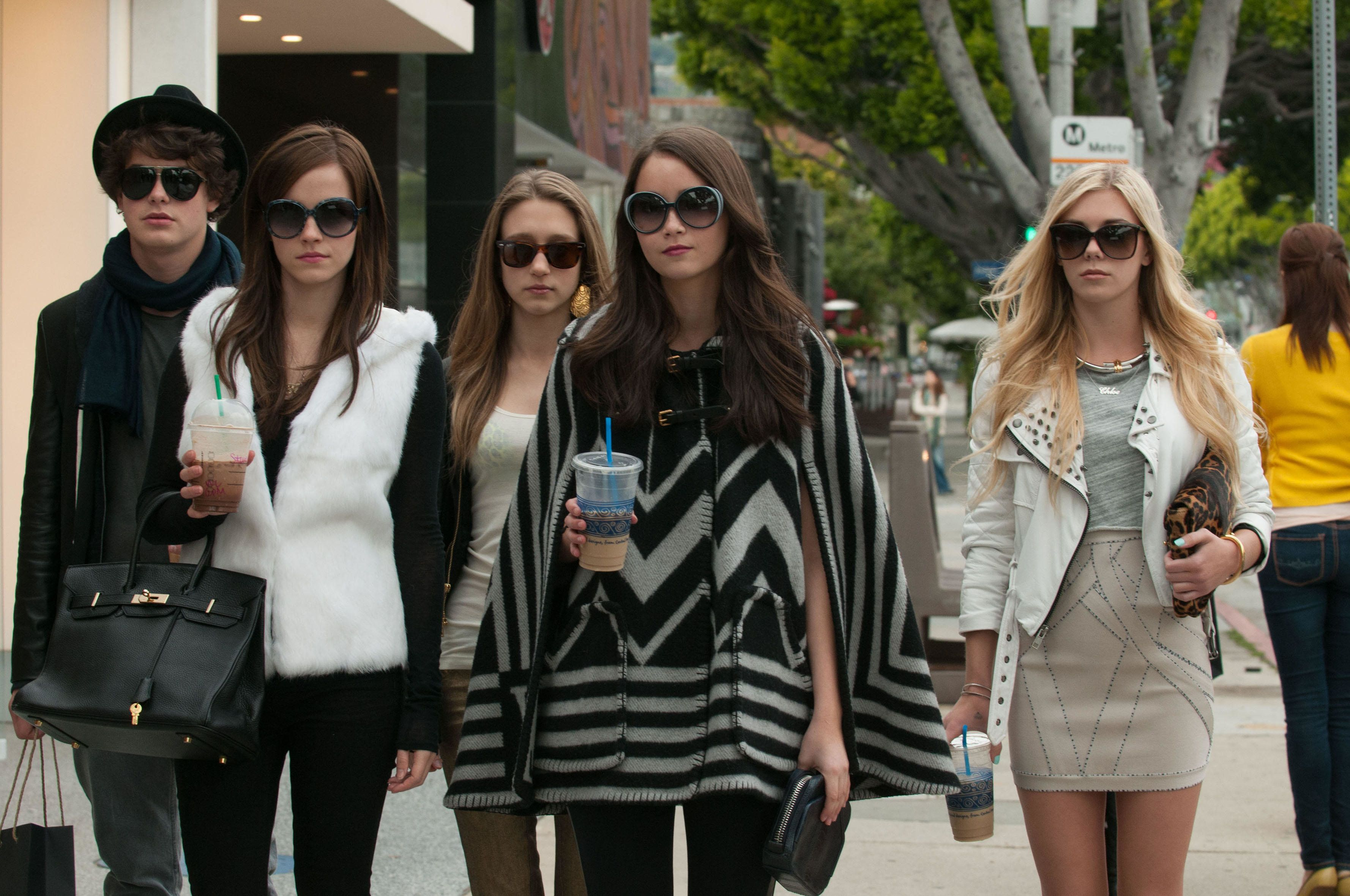 FP8G0P The bling ring 2013 Real Sofia Coppola Emma Watson Katie Chang Israel Broussard Claire Julien Taissa Farmiga Collection