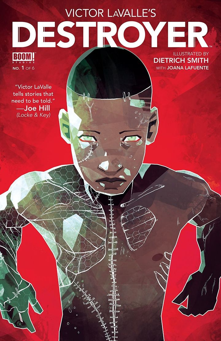 Author Victor Lavalle worked with BOOM! Studios to publish an adaptation of Mary Shelley's Frankenstein, in which a scientist grieves the loss of her son, who was shot by a cop.