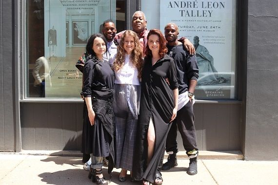 Saint Louis Fashion Incubator Designers in Residence with André Leon Talley