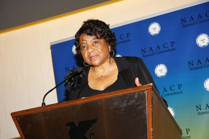 NAACP California State Conference President Alice Huffman attends the NAACP convention in 2011.