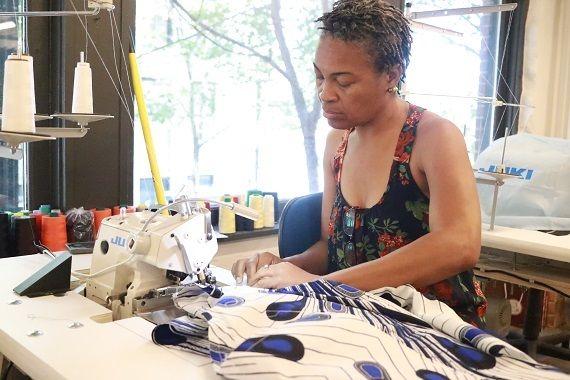 Saint Louis Fashion Incubator, Reuben's seamstress Camille