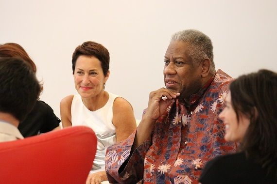 Saint Louis Fashion Fund Founder, Susan Sherman with André Leon Talley