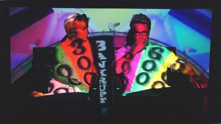 """""""Mystified"""" screen shot / Mika Brzezinski & Joe Scarborough"""