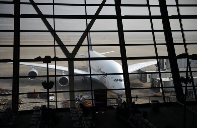 The incident occurred on Tuesday at Shanghai airport (file