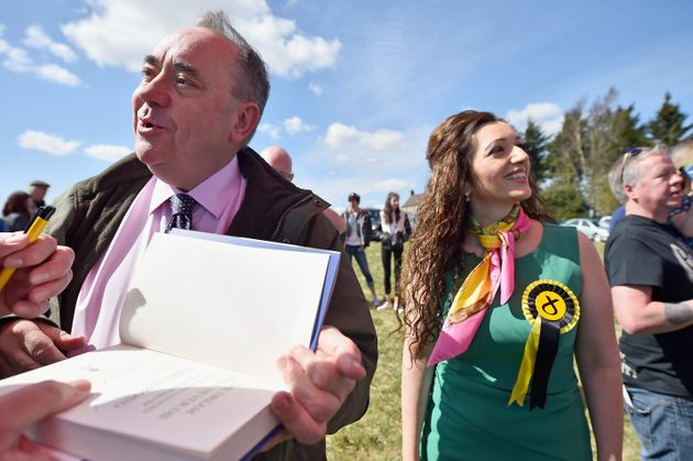 Alex Salmond and Tasmina Ahmed-Sheikh lost their seats at the