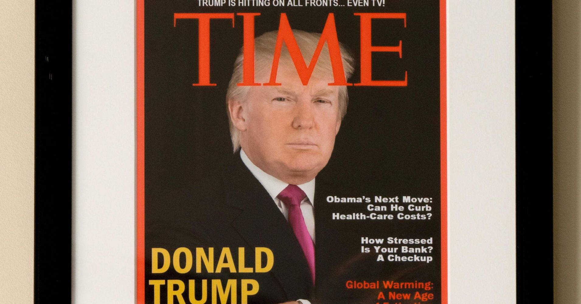 Time Asks Trump To Remove Fake Cover From Business Properties