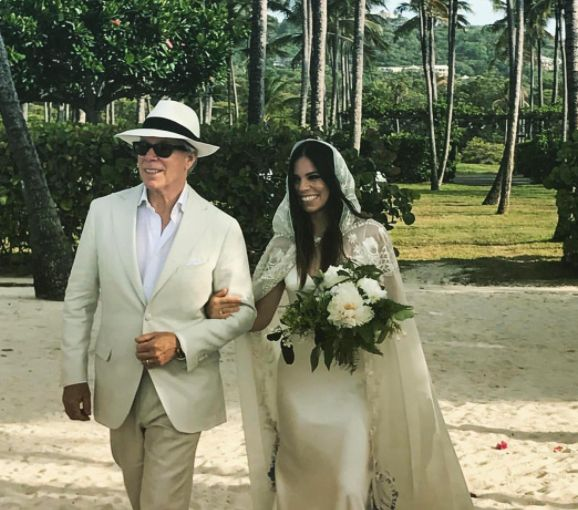 Tommy Hilfiger Walked His Daughter Down The Aisle In A Wedding Dress He
