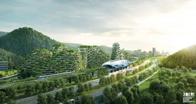 China is building an incredibly cool 'forest city' that will combat pollution