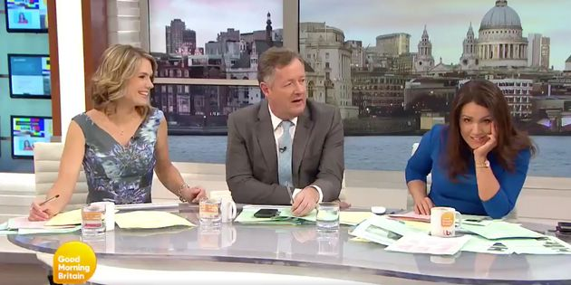 Watch Susanna Reid brutally silence Piers Morgan on live TV