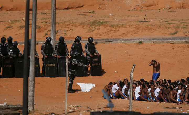 In Brazil, riots in overcrowded jails have killed hundreds.