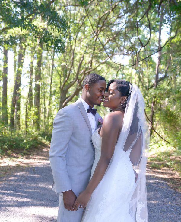 """Wynton Prioleau and Shanae Longmarried in Charleston, South Carolina."" --<i>Kim Craven</i>"