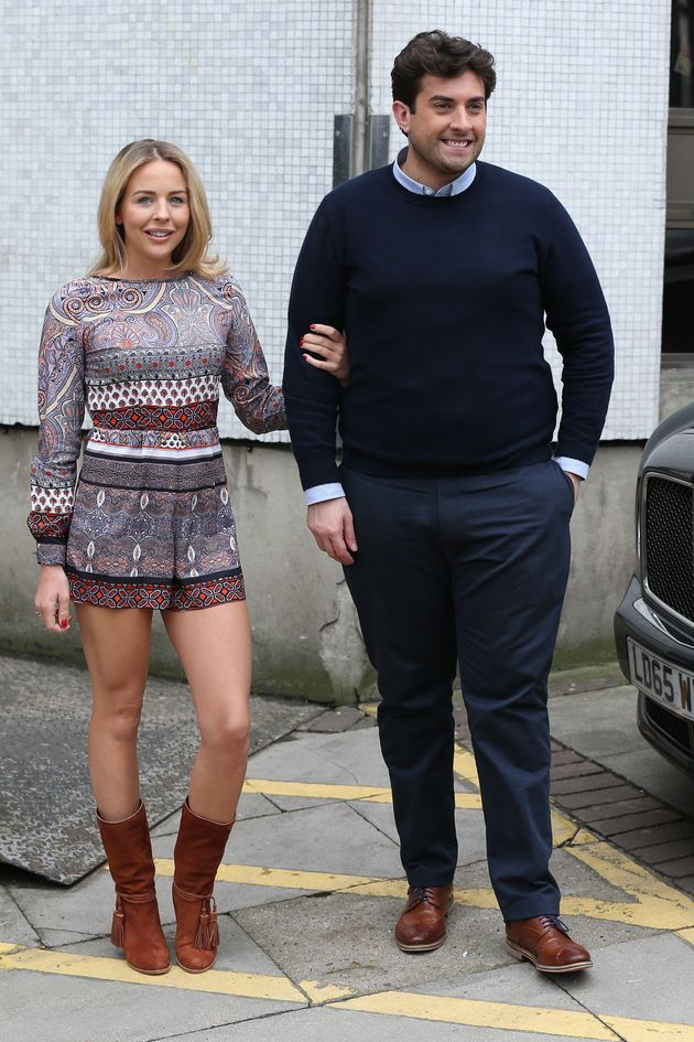 Lydia's on-off relationship with James Argent was a constant source of drama on