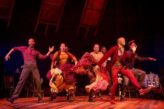 Pictured: Darnell Abraham & Ensemble.  RAGTIME Book by TERRENCE MCNALLY Lyrics by LYNN AHRENS Music by STEPHEN FLAHERTY Based
