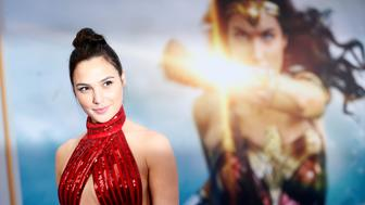 "Cast member Gal Gadot poses at the premiere of ""Wonder Woman"" in Los Angeles, California U.S., May 25, 2017.   REUTERS/Mario Anzuoni"