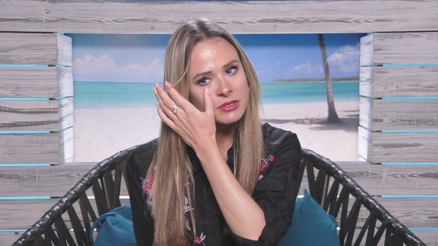 Camilla had several emotional moments on 'Love