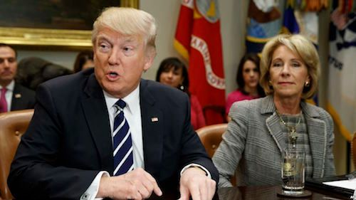 Betsy Devos Deputy Privately Admitted >> Who S Lobbying For For Profit Colleges In The Trump Devos Era
