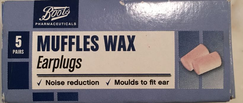 Boots English earplugs