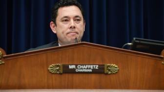 WASHINGTON, DC - FEBRUARY 13: Chairman of the House Oversight and Government Reform Committee, Jason Chaffetz (R-UT) speaks during a business meeting at the Rayburn House Office Building on Monday February 13, 2017 in Washington, DC. The 'Death with Dignity Act' was discussed in the meeting. (Photo by Matt McClain/The Washington Post via Getty Images)
