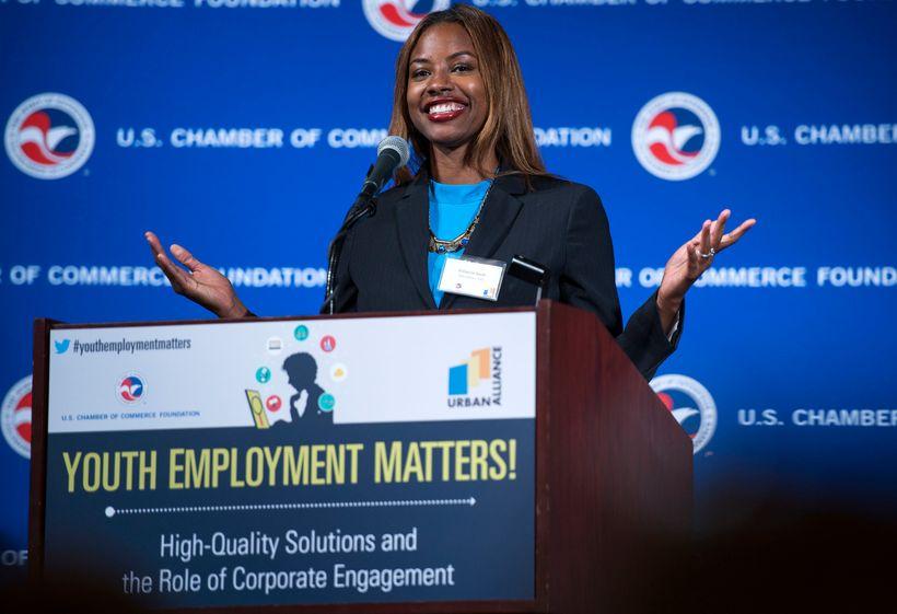Eshauna Smith, CEO of Urban Alliance.