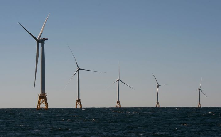 The Block Island Wind Farm, which came online in November, is a five-turbine operation off the coast of the popular vaca
