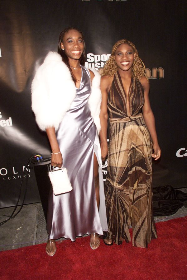 """At Sports Illustrated's """"Sportsman of the Year"""" award ceremony in New York City on Dec. 12, 2000."""