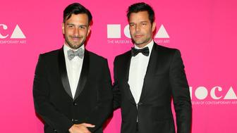LOS ANGELES, CA - APRIL 29: Ricky Martin and Jwan Yosef attend the MOCA Gala 2017 on April 29, 2017 in Los Angeles, California. (Photo by JB Lacroix/WireImage)