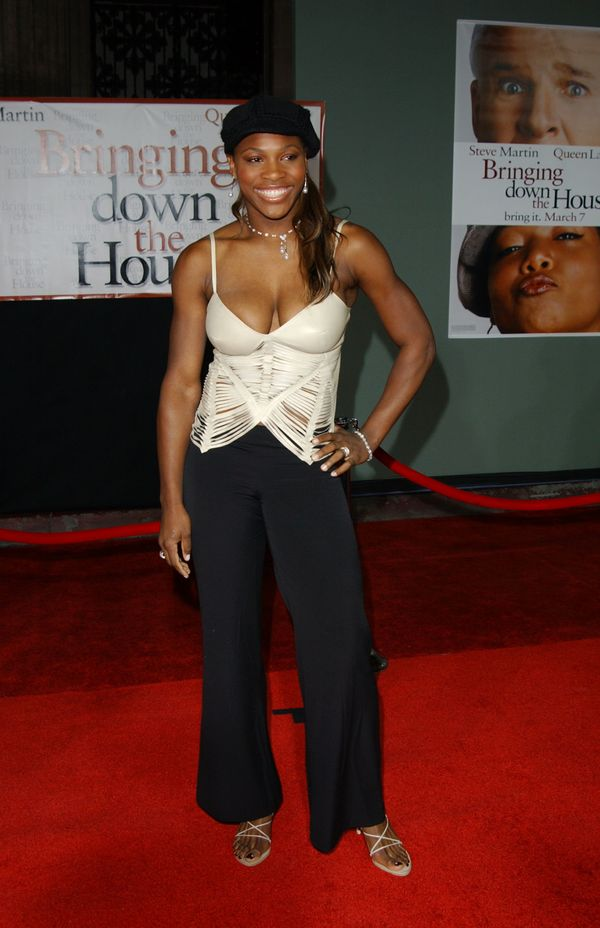 """Attending the premiere of """"Bringing Down The House"""" on March 2, 2003, in Hollywood, California."""