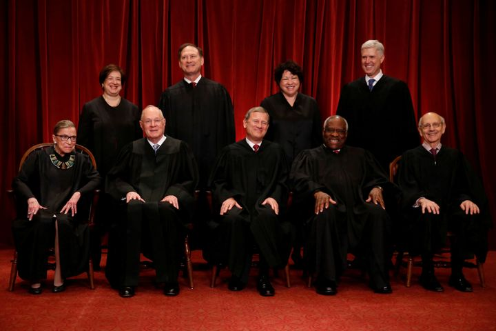 The justices of the Supreme Court.