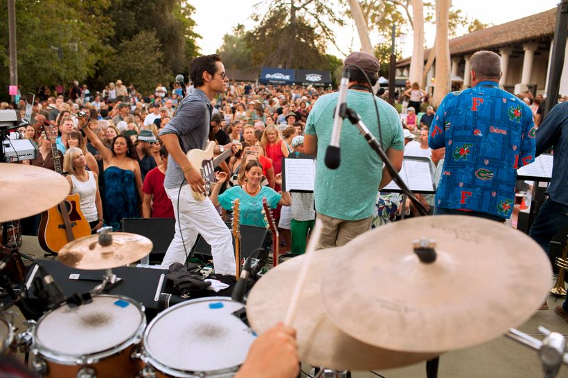 Concerts in Mission Plaza