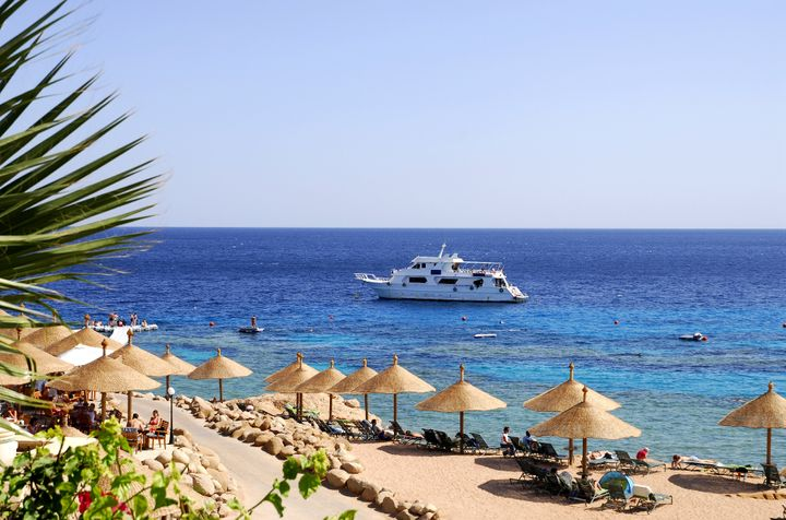 Naama Bay in Sharm el Sheikh.