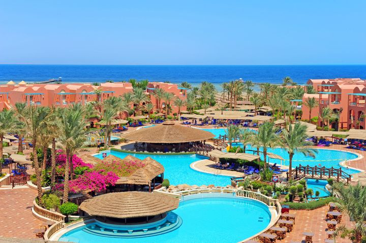 A resort in Sharm el Sheikh.