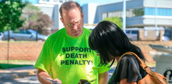 Signatures were collected to put the death penalty on the 2016 Nebraska ballot.