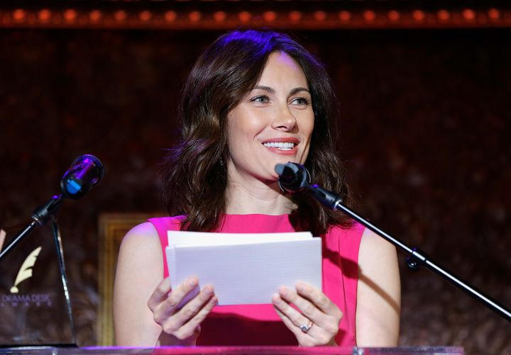 Laura Benanti at the 62nd Annual Drama Desk Nominations on April 27, 2017.