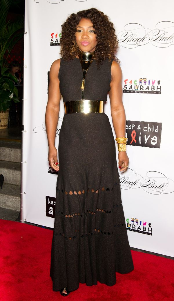 Attending the 8th annual Keep A Child Alive Black Ball at the Hammerstein Ballroom on Nov. 3, 2011, in New York City.