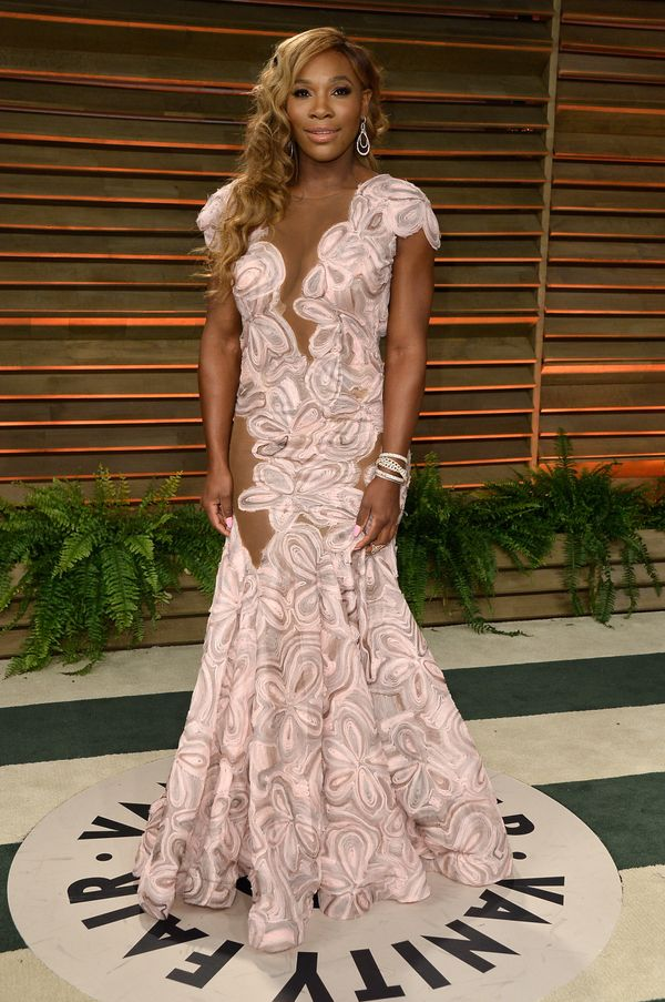Attending the 2014 Vanity Fair Oscar Party hosted by Graydon Carter on March 2, 2014, in West Hollywood, California.