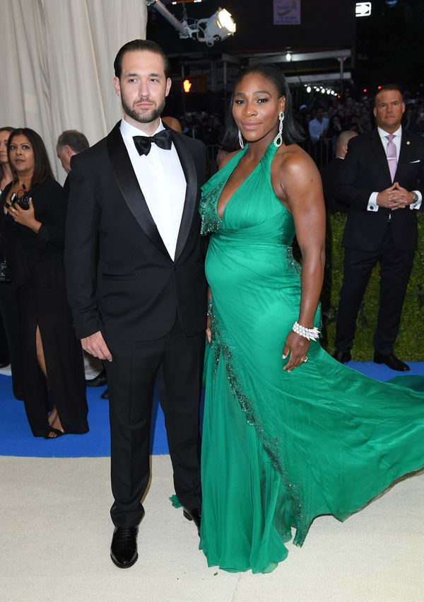 """Alexis Ohanian and Serena Williams attend the """"Rei Kawakubo/Comme des Garcons: Art Of The In-Between"""" Costume Institute Gala"""