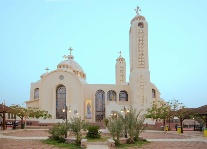 A Coptic Orthodox church in Sharm el Sheikh.