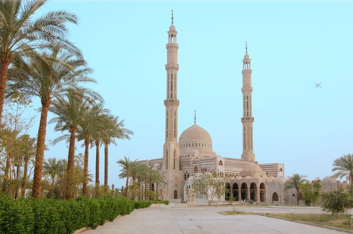 The Al Mustafa Mosque in Sharm el Sheikh.