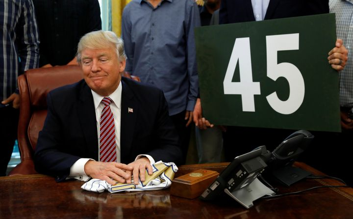 While honoring members of baseball's 2016 World Series champion Chicago Cubs, President Donald Trump on Wednesday makes remar