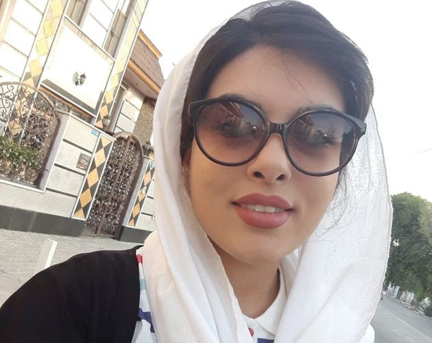 Women share their photos and videos with Iranian activist Masih Alinejad, who verifies them before...