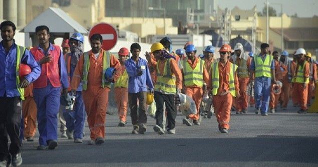 Workers in Qatar