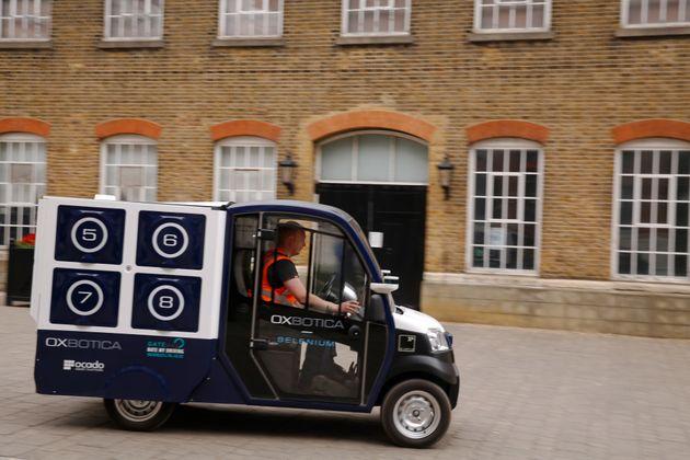Ocado Begins Driverless Van Delivery