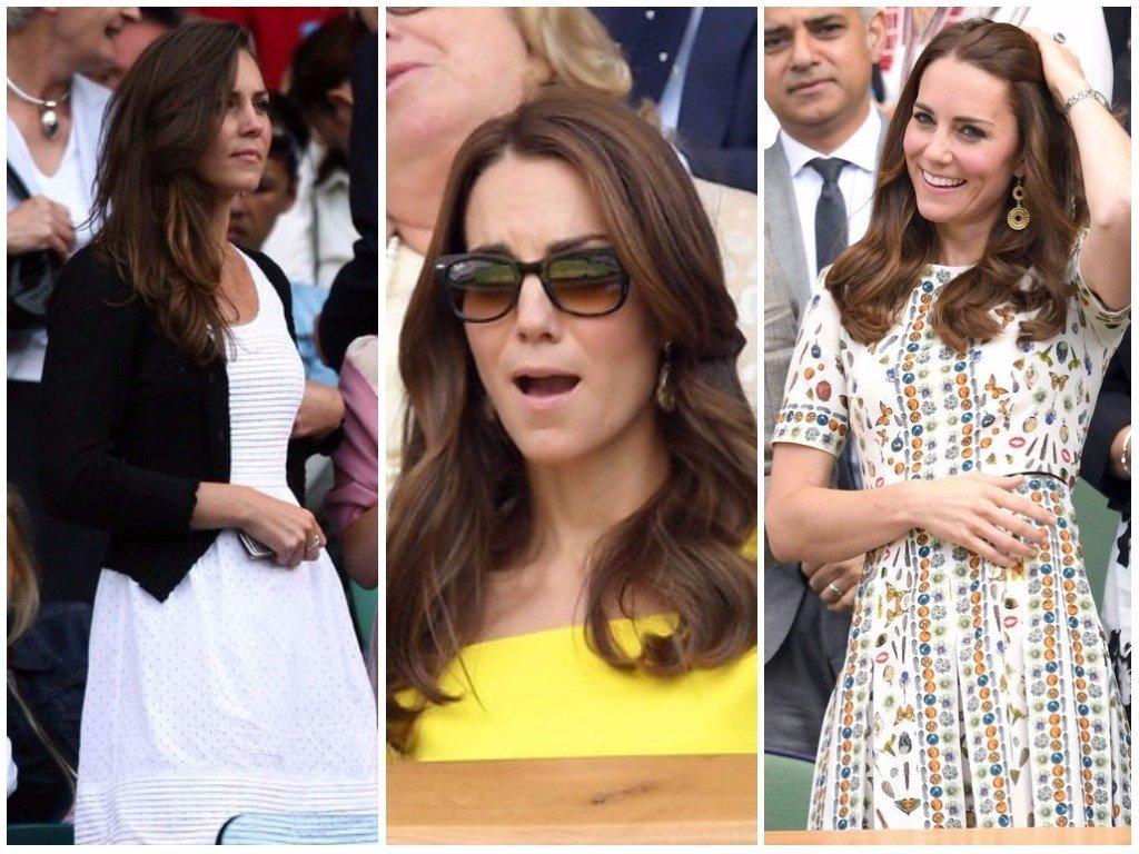 The Duchess Of Cambridge's Winning Wimbledon Style In 24 Stunning