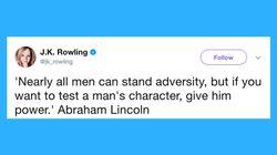J.K. Rowling Puts Trump's Latest Sexist Tweet Into Chilling