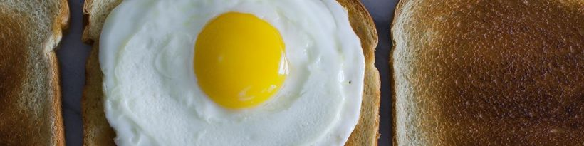 <strong>There</strong>'<strong>s nothing quite like a gooeyyolk broken over a warm slice of toast.</strong>
