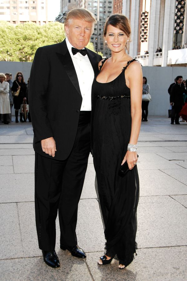 With Melania Trump at the American Ballet Theatre 68th Annual Spring Gala in New York City.