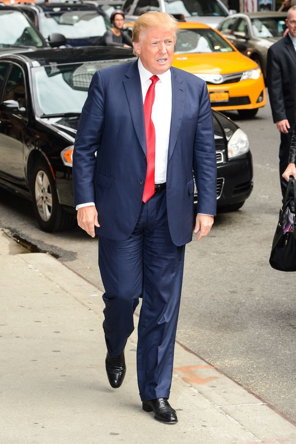 "Entering a taping of ""The Late Show With Stephen Colbert"" in New York City."